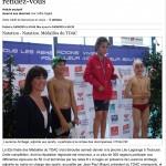 TOAC Natation Médailles du TOAC
